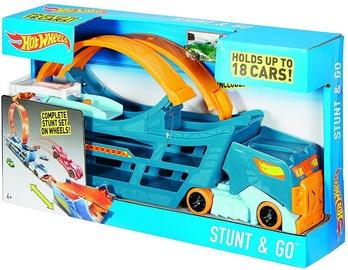 Mattel Hot Wheels Stunt & Go Truck DWN56