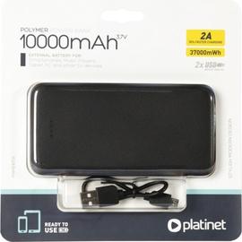 Ārējs akumulators Platinet PMPB10T Black, 10000 mAh