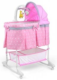 Ceļojuma gultiņa Milly Mally Sweet Melody Pink