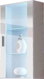 Шкаф-витрина Cama Meble Soho 2, белый, 60x29x115 см