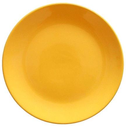 Cesiro Dessert Plate 20cm Yellow