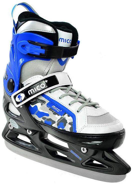 Skrituļslidas Mico Plus Rider II 2in1 White/Blue, 40-43