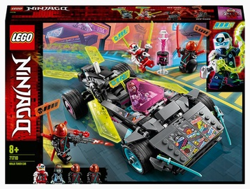 Konstruktors LEGO® Ninjago Pārveidojamā nindzju automašīna 71710, 419 gab.