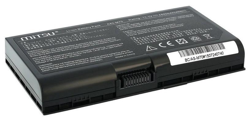 Mitsu Battery for Asus G72, M70, N70 4400mAh