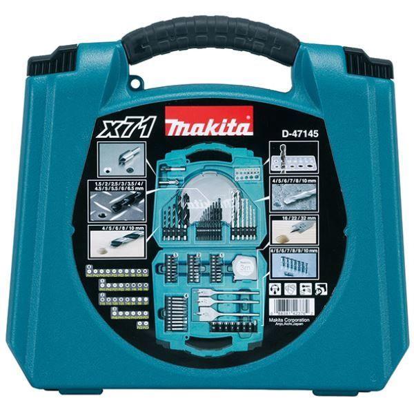 Makita Drill And Screwdriver Bit Set 71pcs