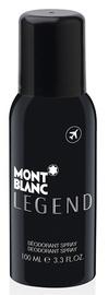 Vīriešu dezodorants Mont Blanc Legend Spray, 100 ml