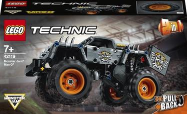 Конструктор LEGO Technic Monster Jam® Max-D® 42119, 230 шт.