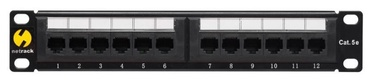 Netrack Patch Panel 10'' CAT5e UTP 12-Port