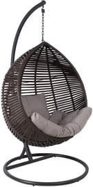 Home4you Chestnut Hanging Chair Dark Brown