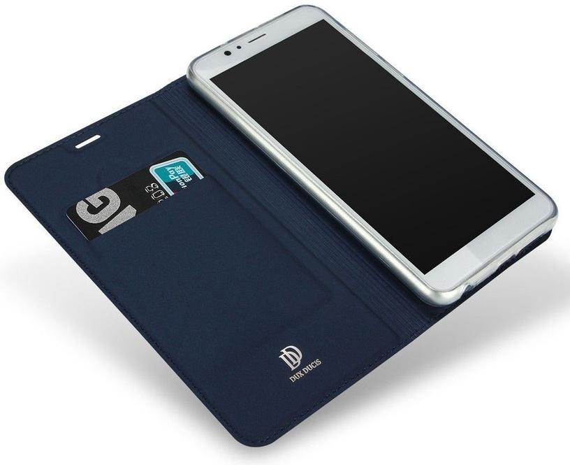 Dux Ducis Premium Magnet Case For Huawei Honor 7C/Y7 2018 Blue