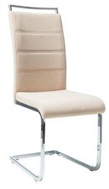 Ēdamistabas krēsls Signal Meble H441 Beige, 1 gab.