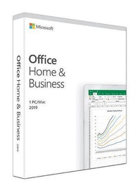 Microsoft Office Home and Business 2019 EuroZone Medialess Box