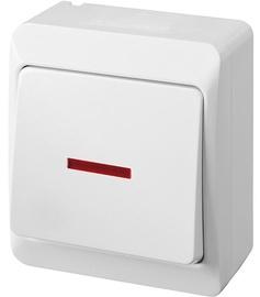 Slēdzis Elektro-Plast Hermes 0341-02 White