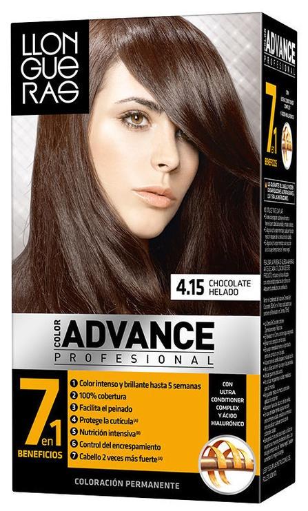 Llongueras Color Advance Hair Colour 4.15