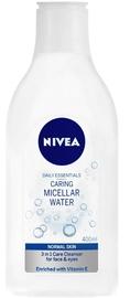 Kosmētikas noņemšanas līdzeklis Nivea Micellar Water Normal Skin, 400 ml