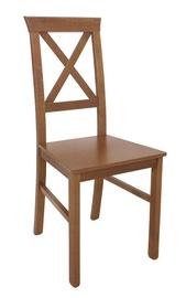 Ēdamistabas krēsls Black Red White Alla 4, brūna