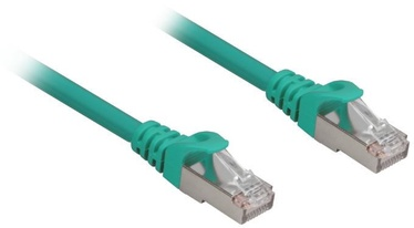Vads Sharkoon RJ45 CAT.6a SFTP LSOH Network Cable 3m Green