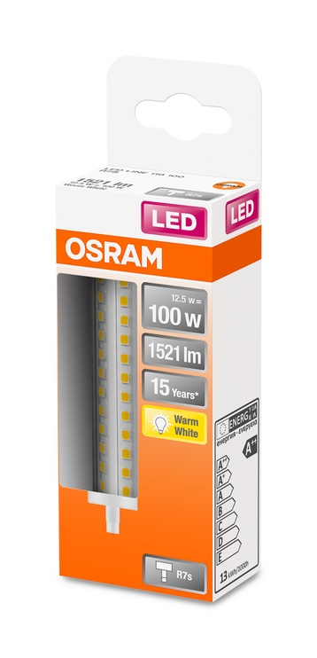 LAMPA LED R7S 118MM 12.5W 2700K 1521LM