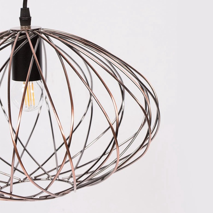 Gaismeklis Domoletti Casto MD42843-1B Ceiling Lamp 40W E27 Brown/Black