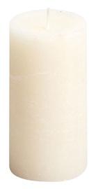 Свеча Spaas Rustik Cylindrical Candle D7xH13cm Ivory