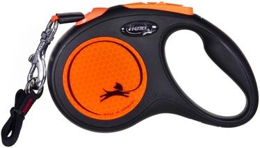 Поводок Flexi New Neon, oранжевый, 5 м