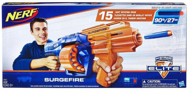 Игрушечное оружие Hasbro Nerf N-Strike Elite SurgeFire E0011