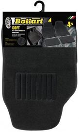Автомобильный коврик из ткани Bottari Soft, 4 шт.