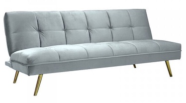 Signal Meble Sofa Moritz Velvet Light Blue/Gold