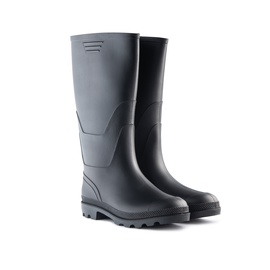 SN Men Rubber Boots 900P Long 43 Black