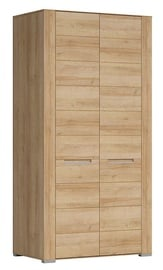 Skapis Black Red White Dinaro Dinaro II Oak, 100x56x198 cm