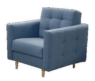 Atzveltnes krēsls Idzczak Meble Godivo Blue, 88x95x89 cm