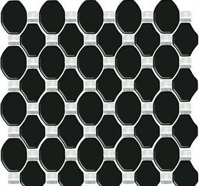 Paradyz Ceramika Secret Mosaic Tiles 29.8x29.8cm Black