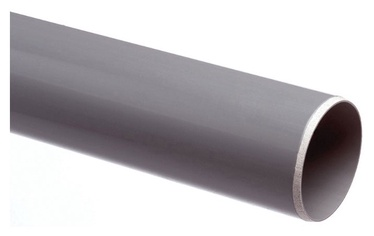 Caurule PVC ar uzmavu Wavin, Ø 110 mm, 1 m