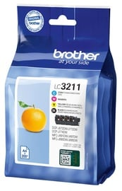 Brother Cartridge LC3211VALDR Pack Black/Yellow/Cyan/Magenta