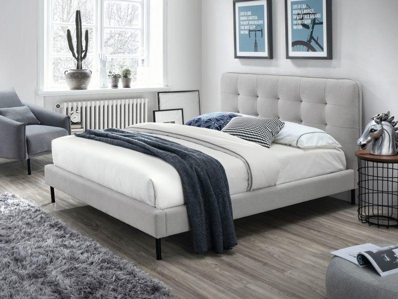 Кровать Signal Meble Sally Grey, 160 x 200 cm