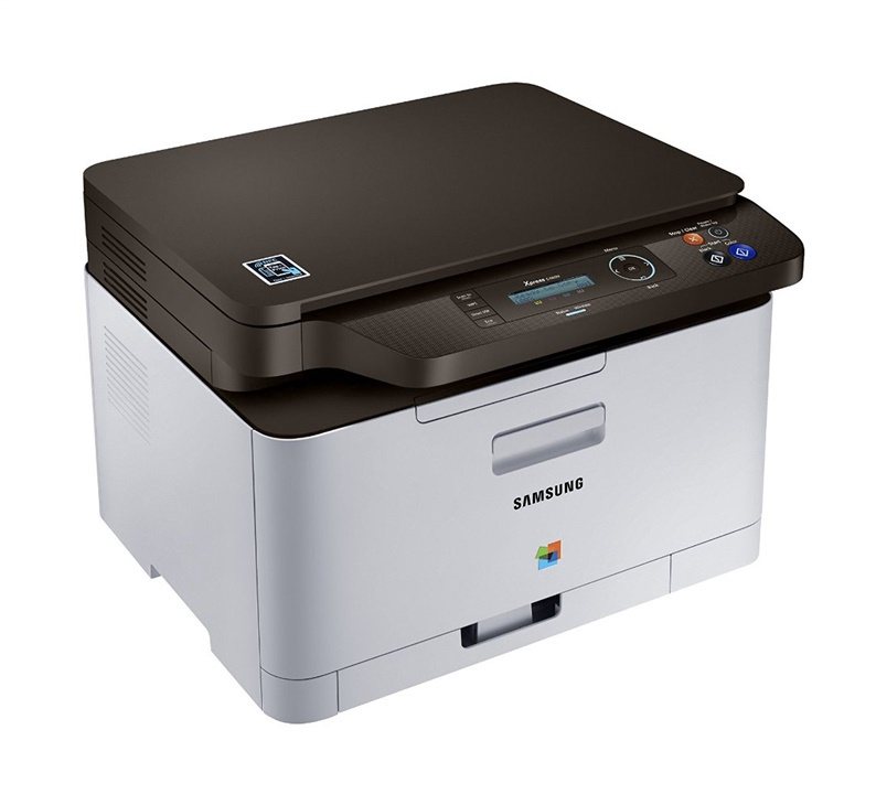Daudzfunkciju printeris Samsung SL-C480W/SEE, lāzera, krāsains