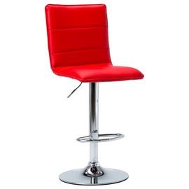 Bāra krēsls VLX Faux Leather 249624, sarkana