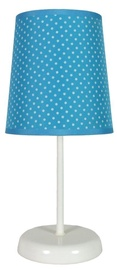 Candellux Gala 41-98293 40W E14 Table Lamp Blue Dotted