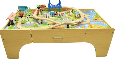 4IQ City Of Dreams Wooden Game Table