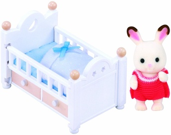 Epoch Sylvanian Families Chocolate Rabbit Baby Set 2205