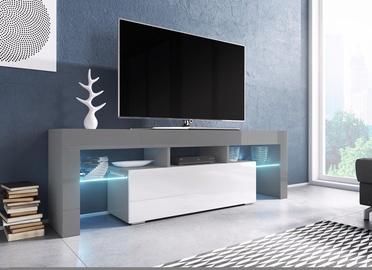 ТВ стол Cama Meble Toro 138, белый/серый, 1380x400x410 мм