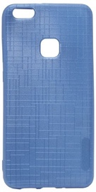 Mocco Cloth Texture Back Case For Huawei P10 Lite Blue