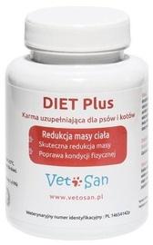 Пищевые добавки, витамины для кошек Vetosan Diet Plus 90 pcs, 0.1 кг