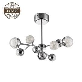Lampa Domoletti Carina B2000-9, integrētā led spuldze, 6 W, 1 gab.
