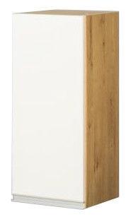 Bodzio Monia Upper Cabinet 30 Left White/Brown