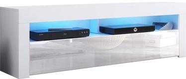 ТВ стол Vivaldi Meble Mex 2, белый, 1400x350x500 мм