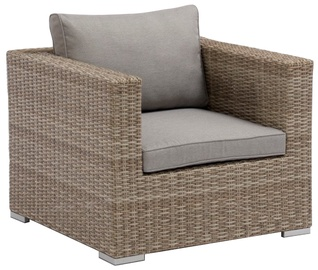 Dārza krēsls Masterjero, brūna/pelēka, 65 cm x 84 cm x 84 cm