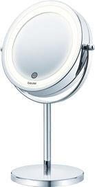 Kosmētiskais spogulis Beurer BS 55 Chrome, ar gaismu, stāvošs, 20.5x31.5 cm