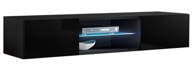 ТВ стол ASM RTV Fly 33, черный, 1600x400x300 мм