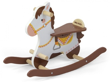 Milly Mally Lucky 18 Rocking Horse Brown